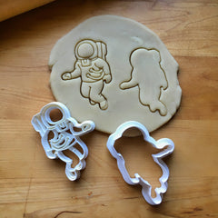 Set of 2 Astronaut Cookie Cutters/Dishwasher Safe