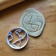 Earth/World Cookie Cutter/Dishwasher Safe