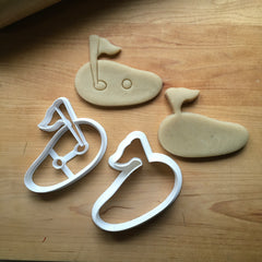 Set of 2 Putting Green Cookie Cutters/Dishwasher Safe