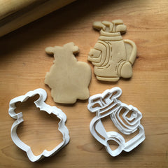 Set of 2 Golf Bag Cookie Cutters/Dishwasher Safe