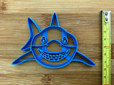 Smiling Shark Face Cookie Cutter/Dishwasher Safe