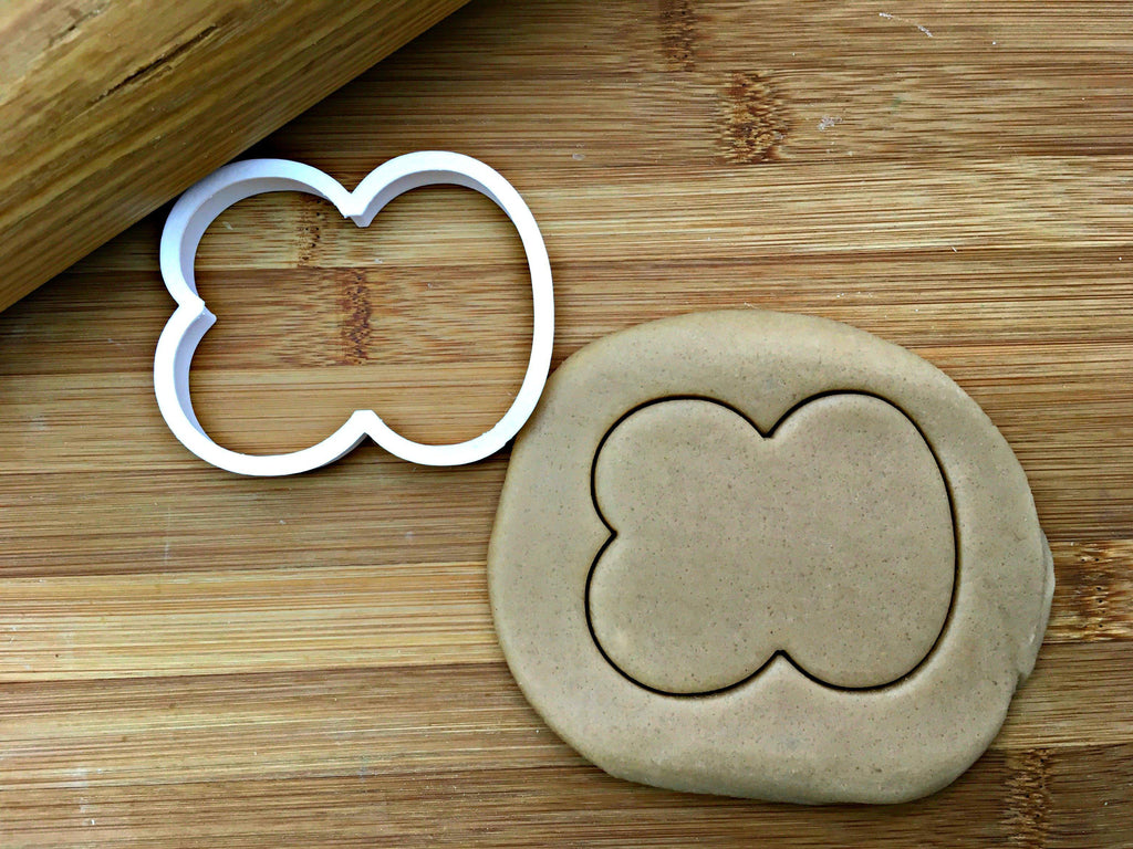 Number 80 Cookie Cutter
