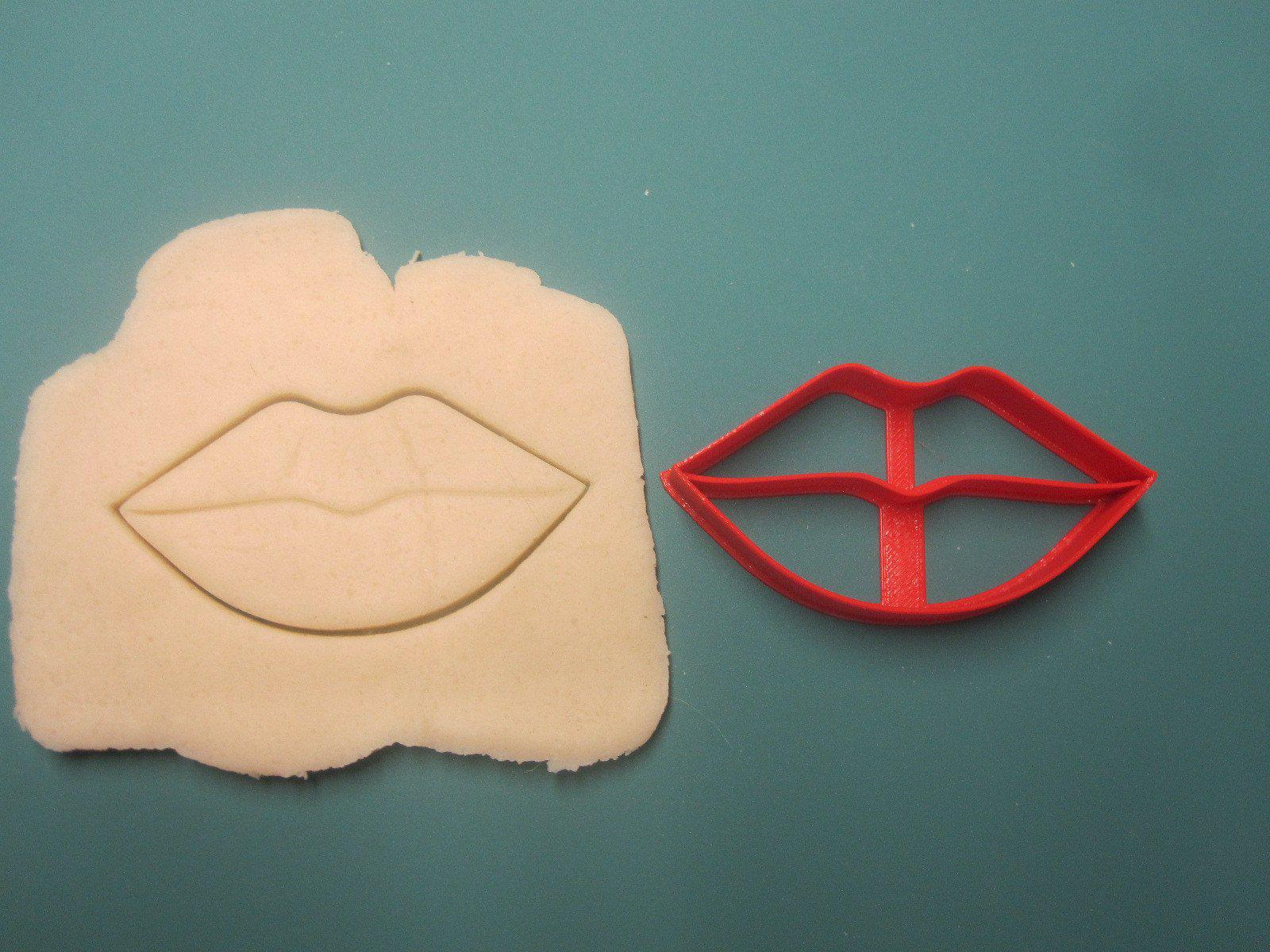 Lips Cookie Cutter/Dishwasher Safe