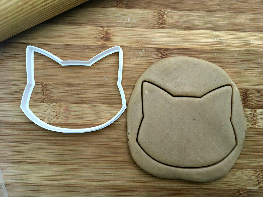 Cat Cookie Cutter Stencil