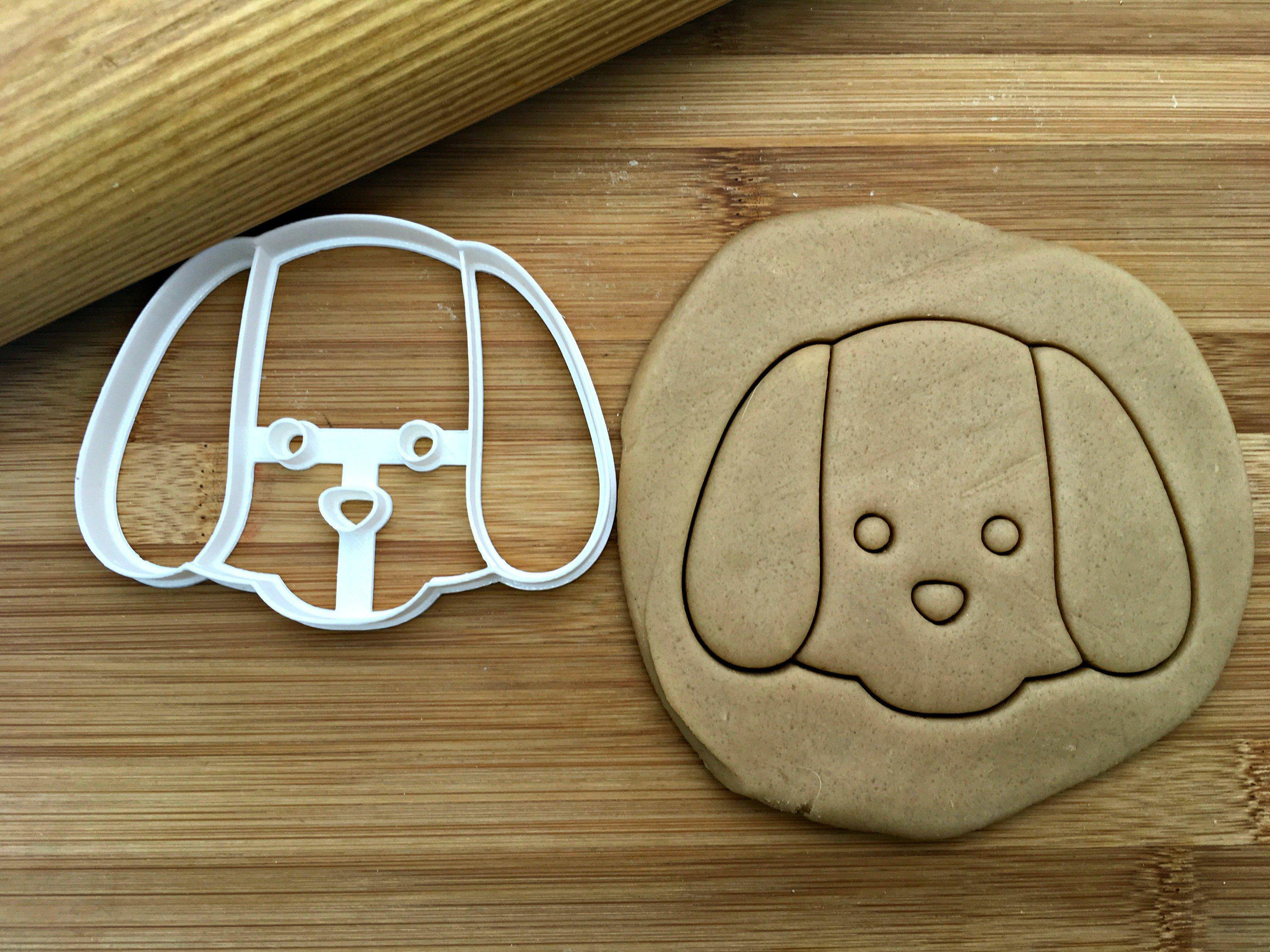 Dog Face Cookie Cutter/Dishwasher Safe