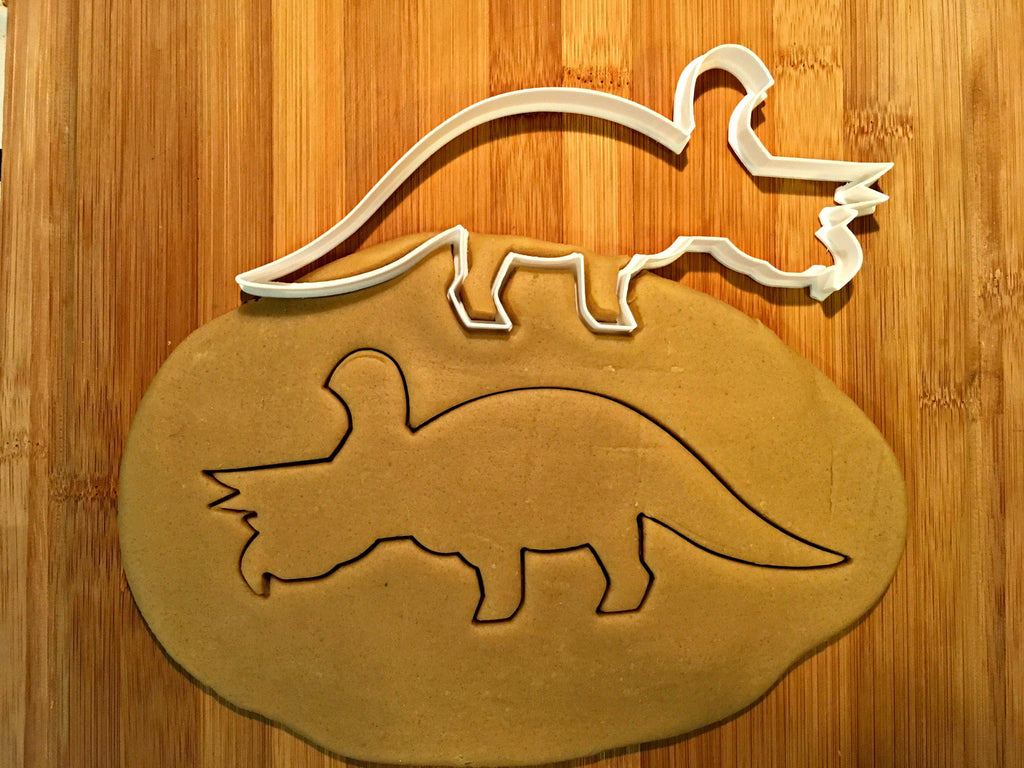 Triceratops Dinosaur Cookie Cutter/Dishwasher Safe
