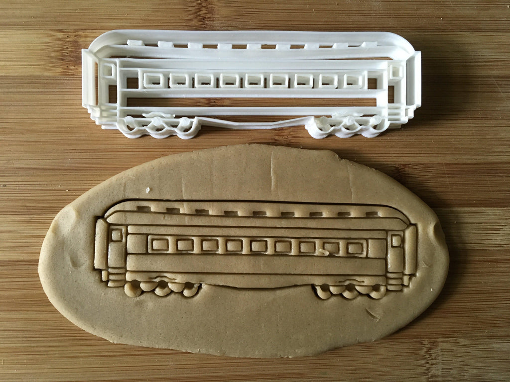 Train Passenger Car Cookie Cutter