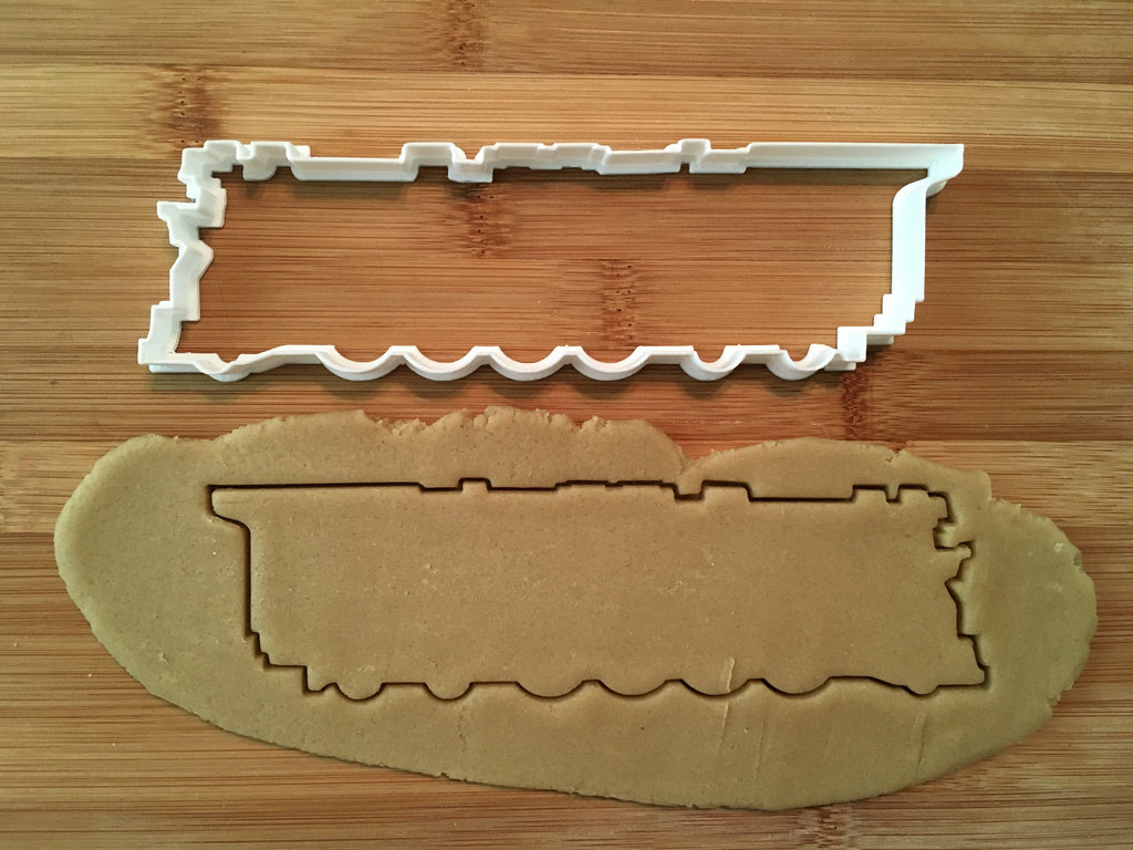 Steam Train Cookie Cutter