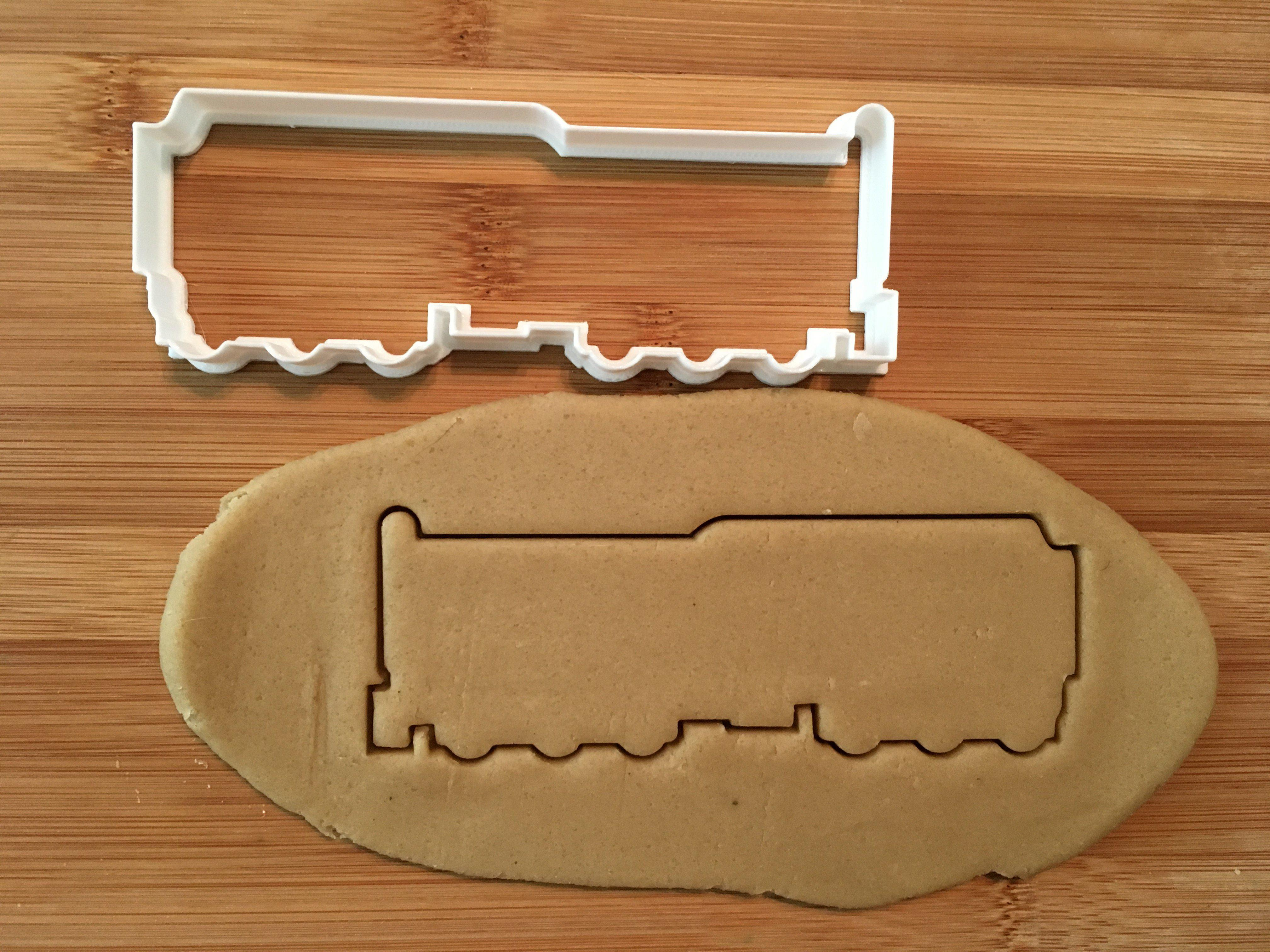 Train Coal Tender Cookie Cutter/Dishwasher Safe