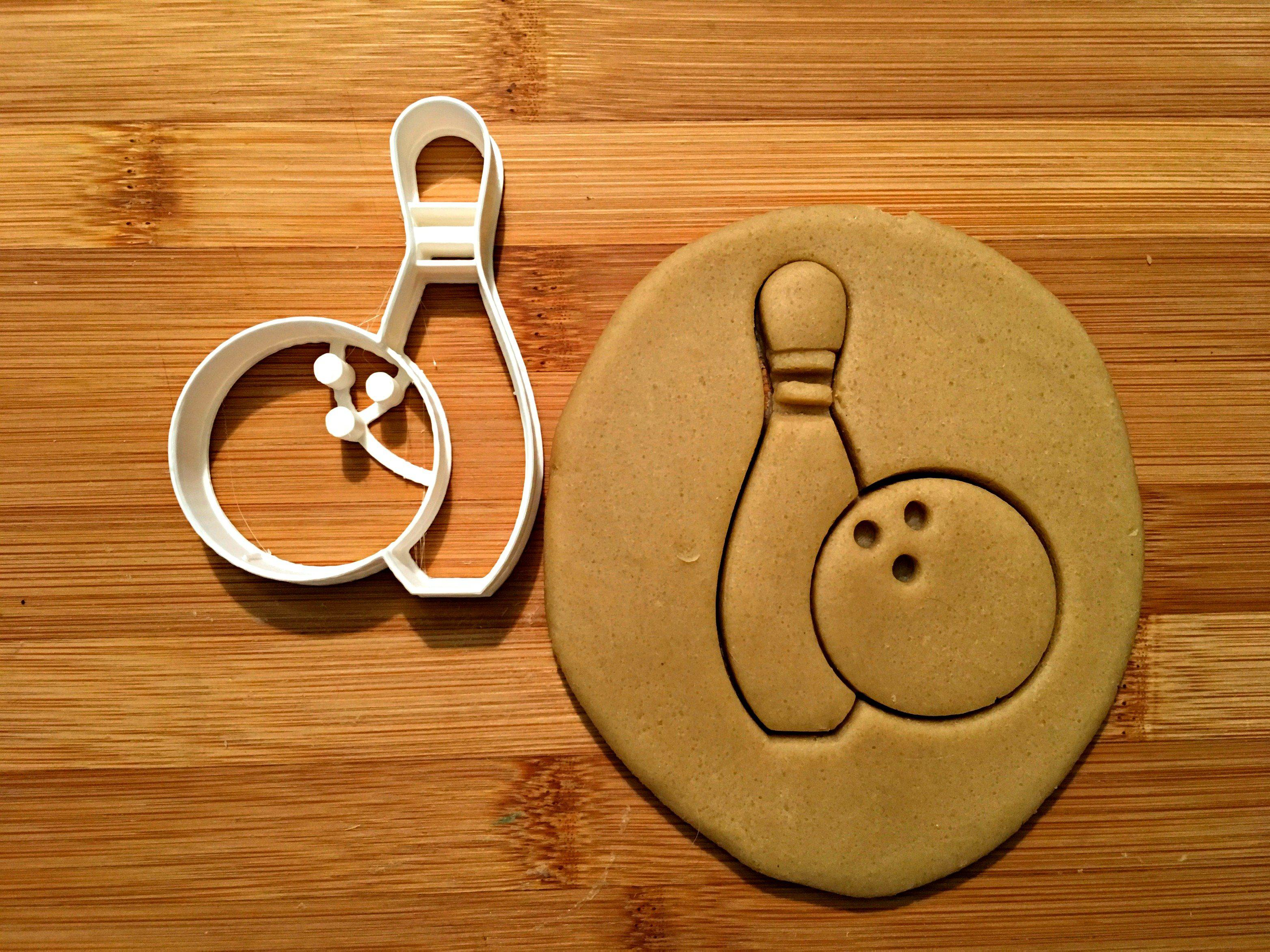 Bowling Pin and Ball Cookie Cutter