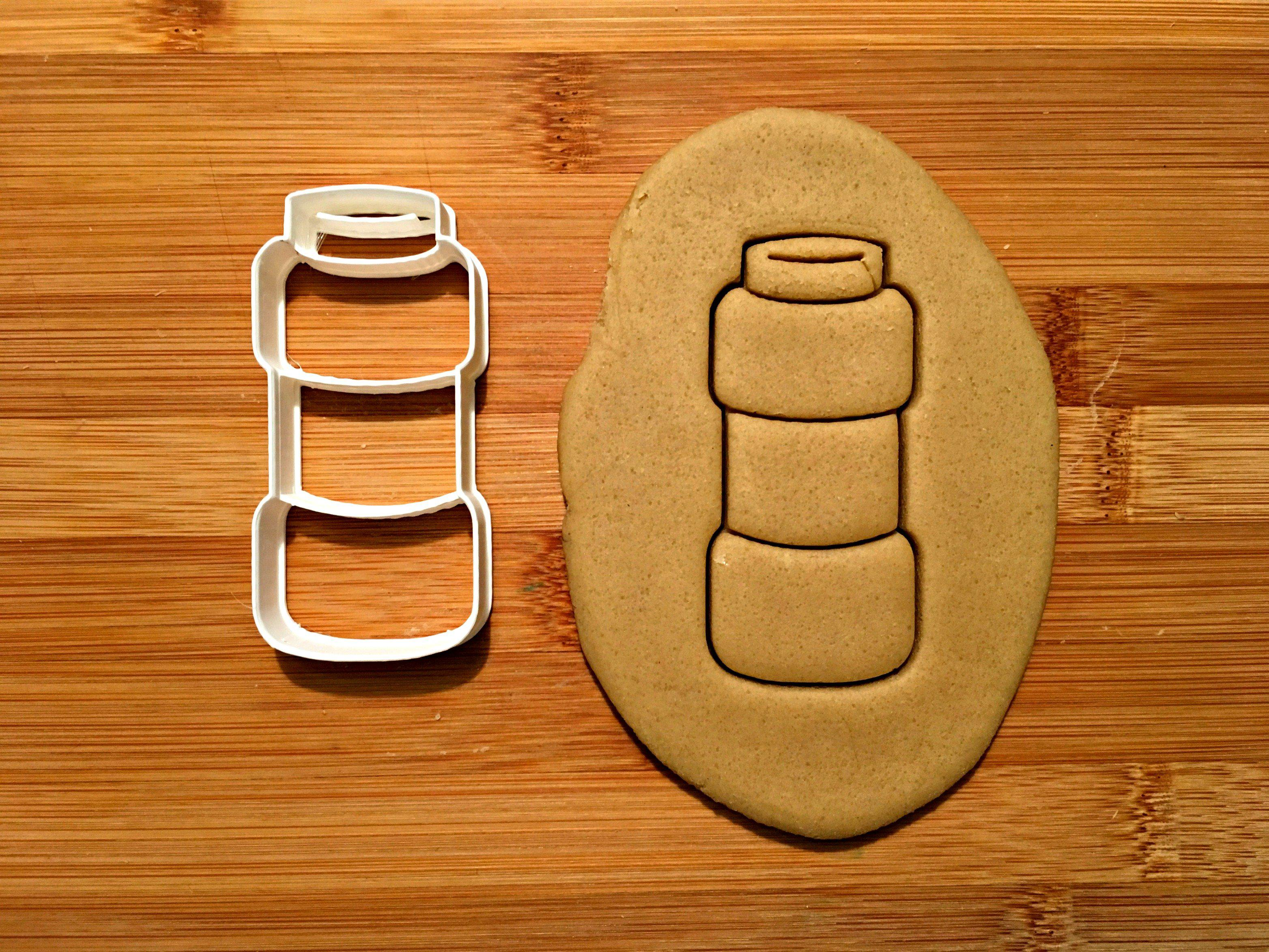 Bubble Jar Cookie Cutter/Dishwasher Safe