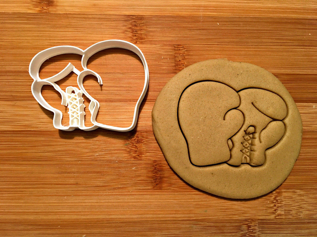 Boxing Gloves Cookie Cutter/Dishwasher Safe