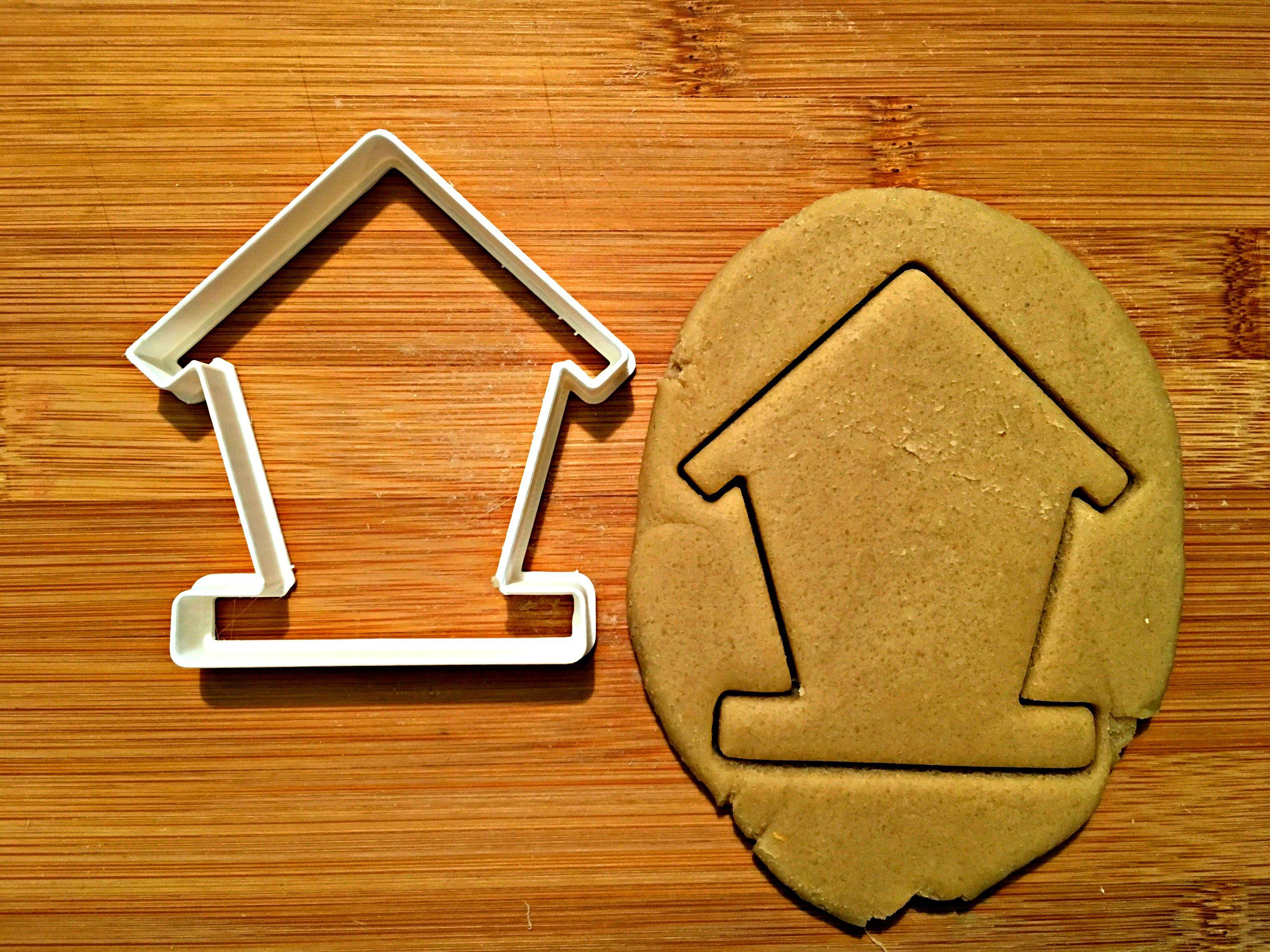 Bird House Cookie Cutter/Dishwasher Safe