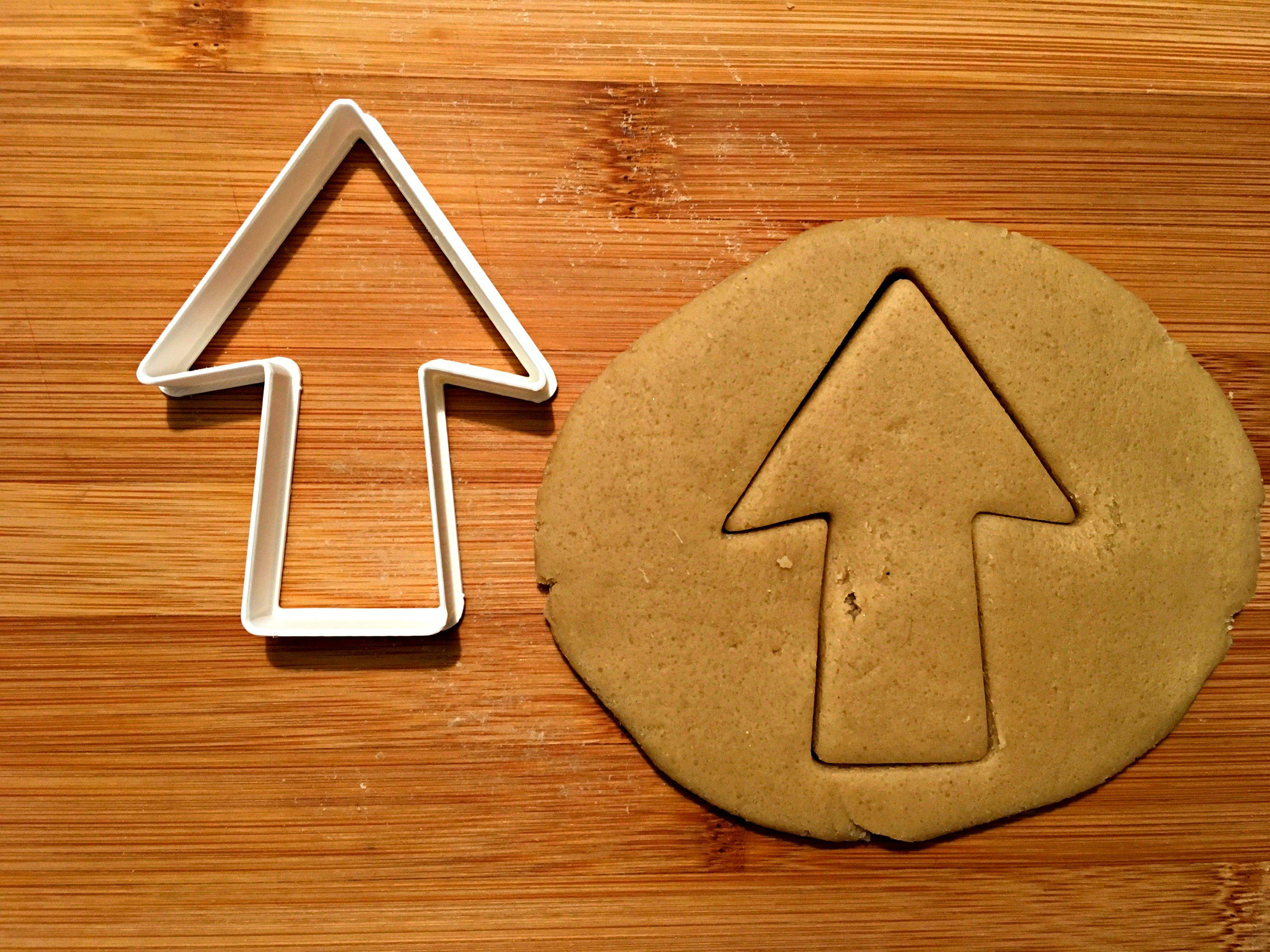 Arrow Cookie Cutter/Dishwasher Safe - Sweet Prints Inc.