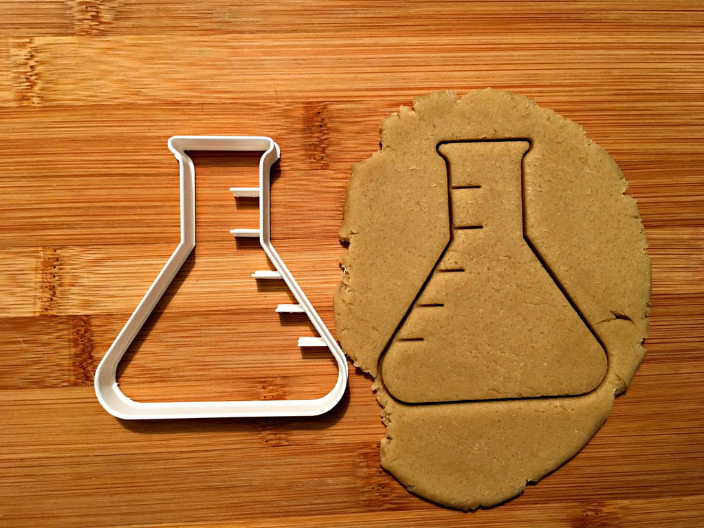 Beaker Cookie Cutter/Dishwasher Safe