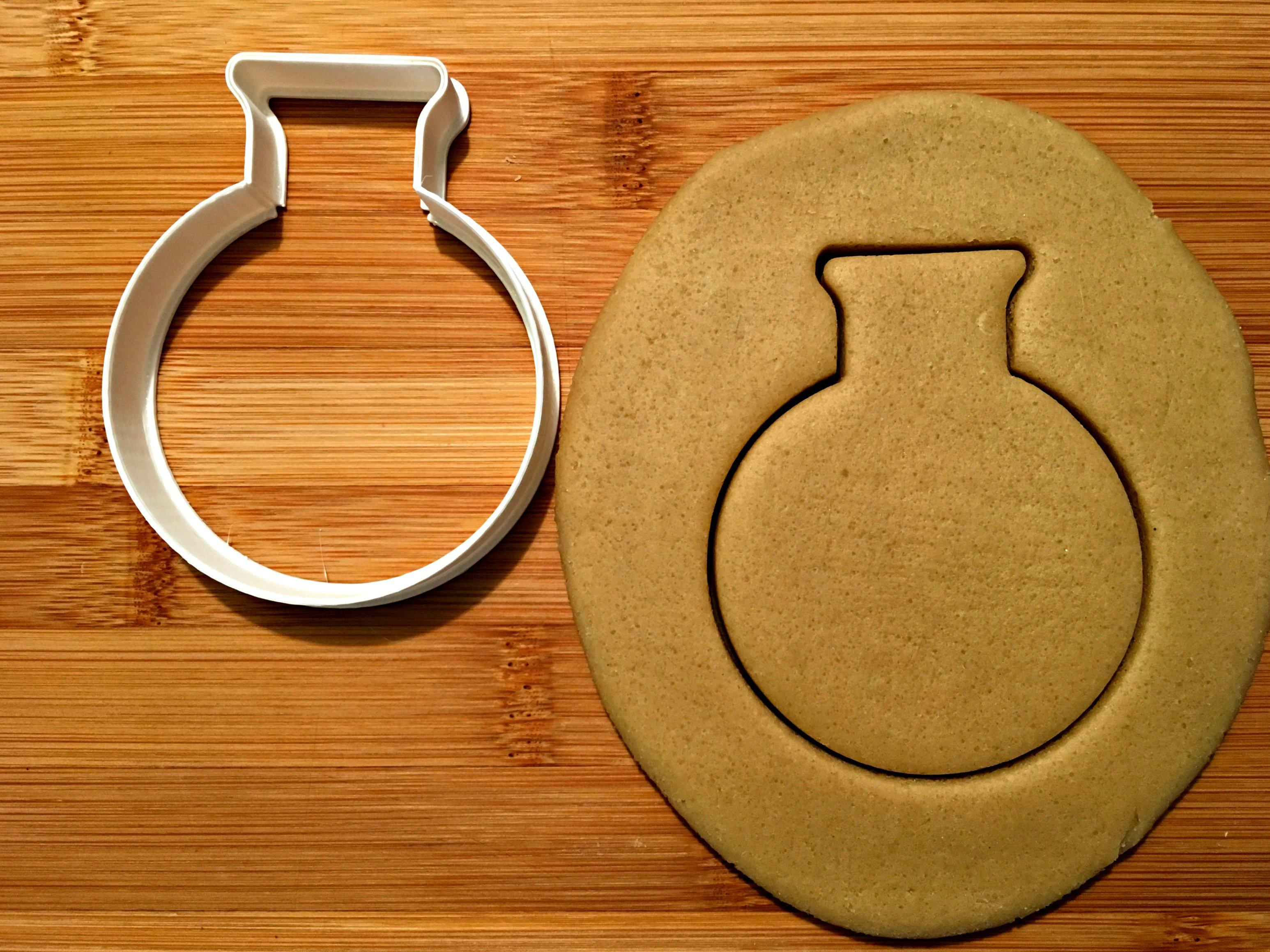Rounded Flask Cookie Cutter
