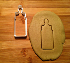 Baby Bottle Cookie Cutter/Dishwasher Safe