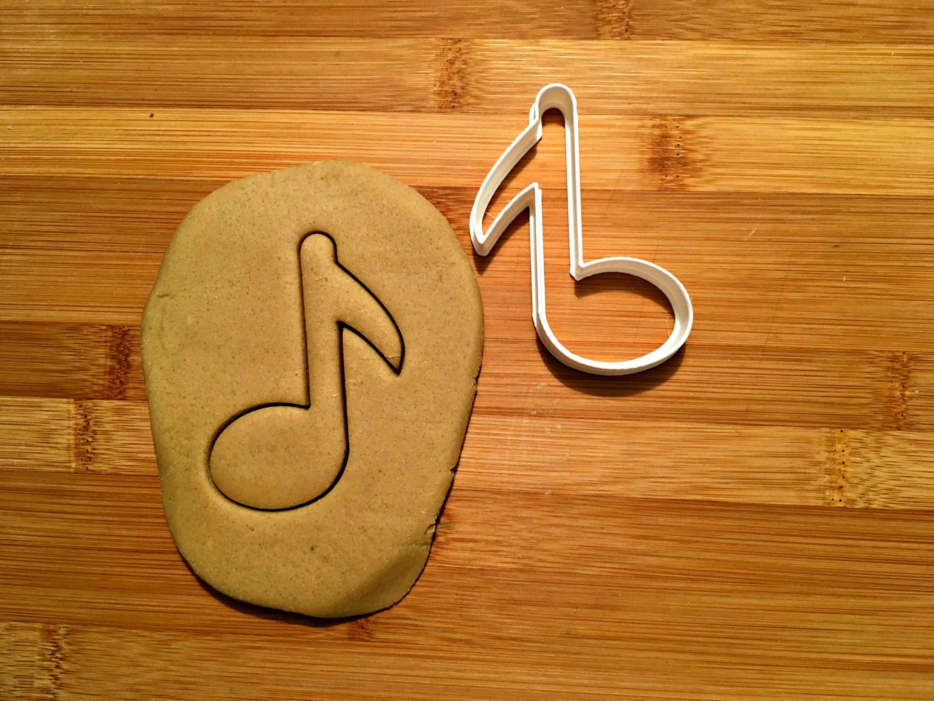 Eighth Note Cookie Cutter/Dishwasher Safe