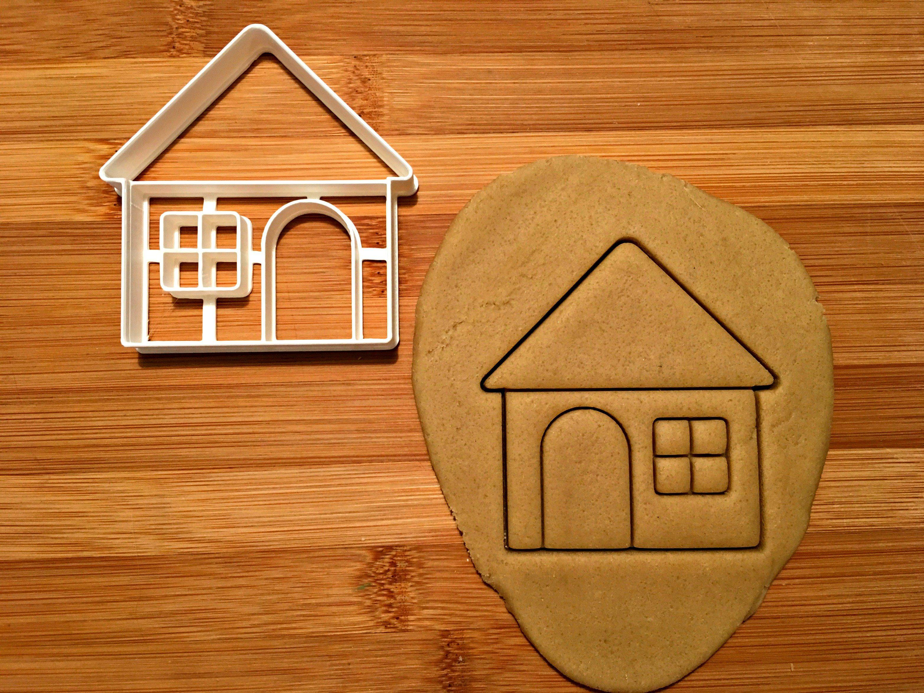 House Cookie Cutter/Dishwasher Safe