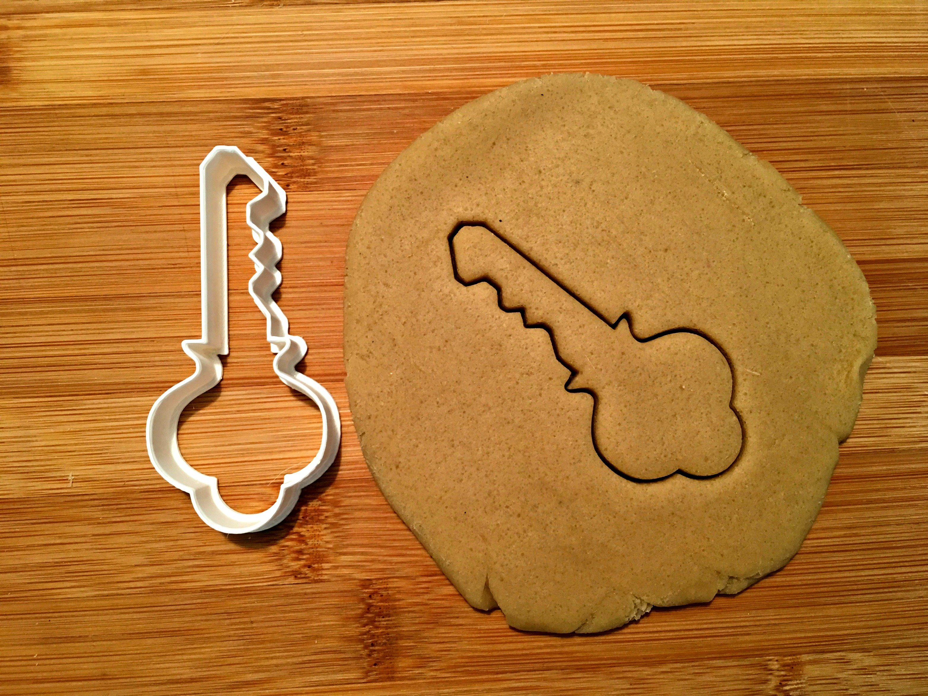 Ornate Key Cookie Cutter/Dishwasher Safe