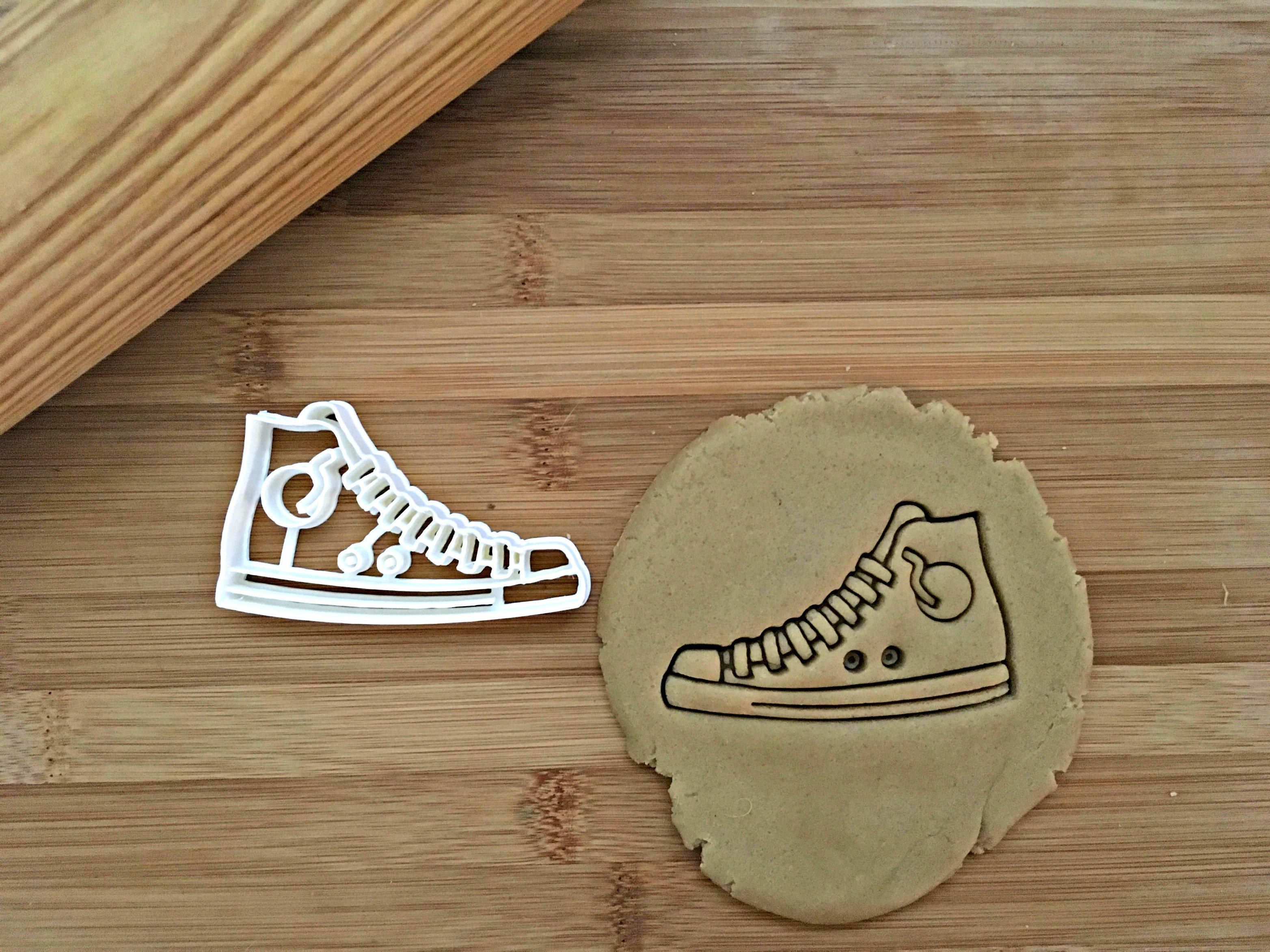 High Top Shoe Cookie Cutter/Dishwasher Safe