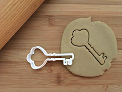 Heart Key Cookie Cutter
