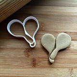 Maracas Cookie Cutter/Dishwasher Safe