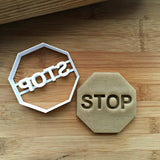 Stop Sign/Octagon Cookie Cutter/Dishwasher Safe