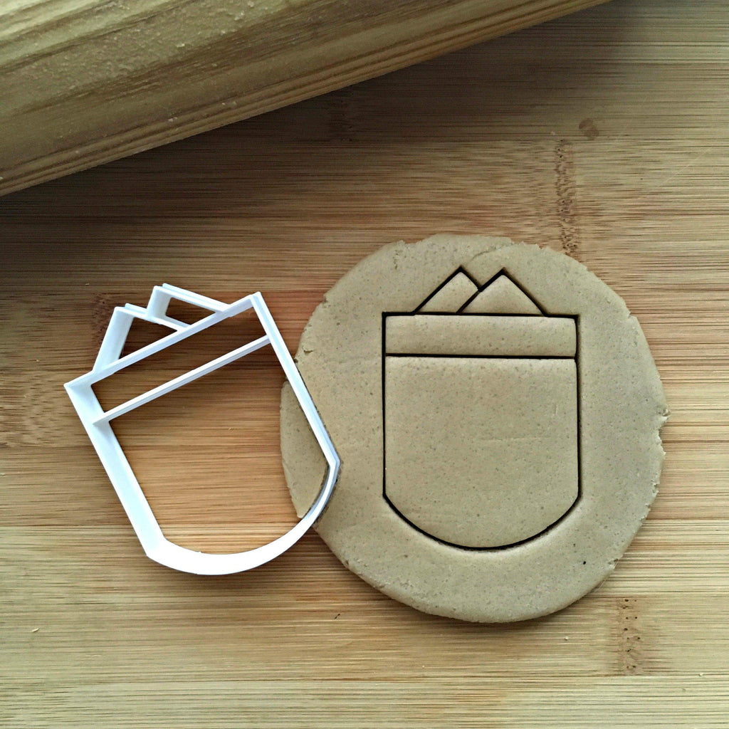 Shirt Pocket Cookie Cutter