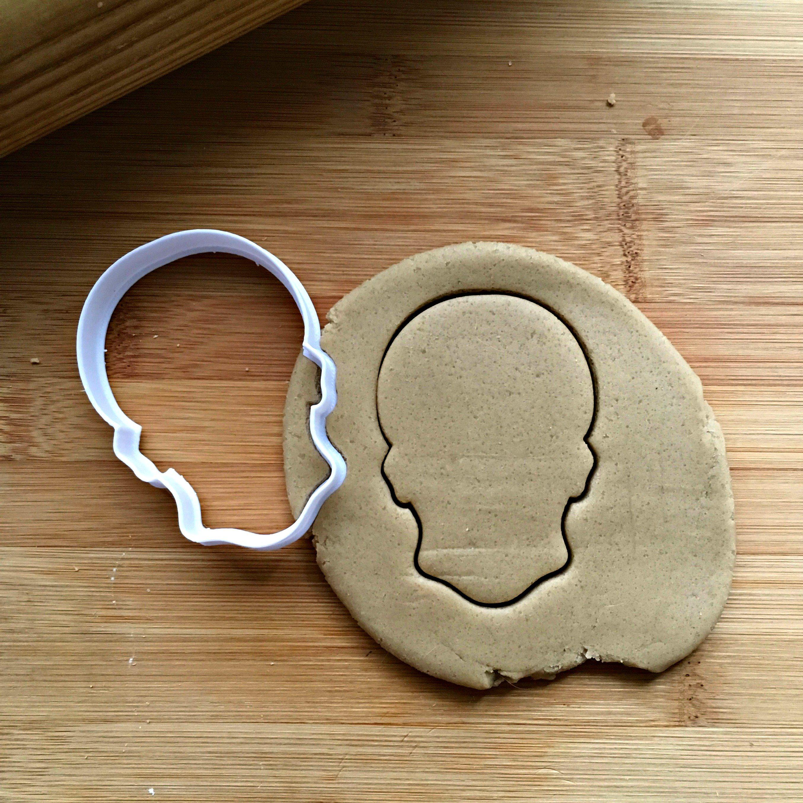 Skull Cookie Cutter/Dishwasher Safe