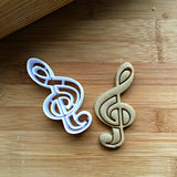 Treble Clef Cookie Cutter/Dishwasher Safe