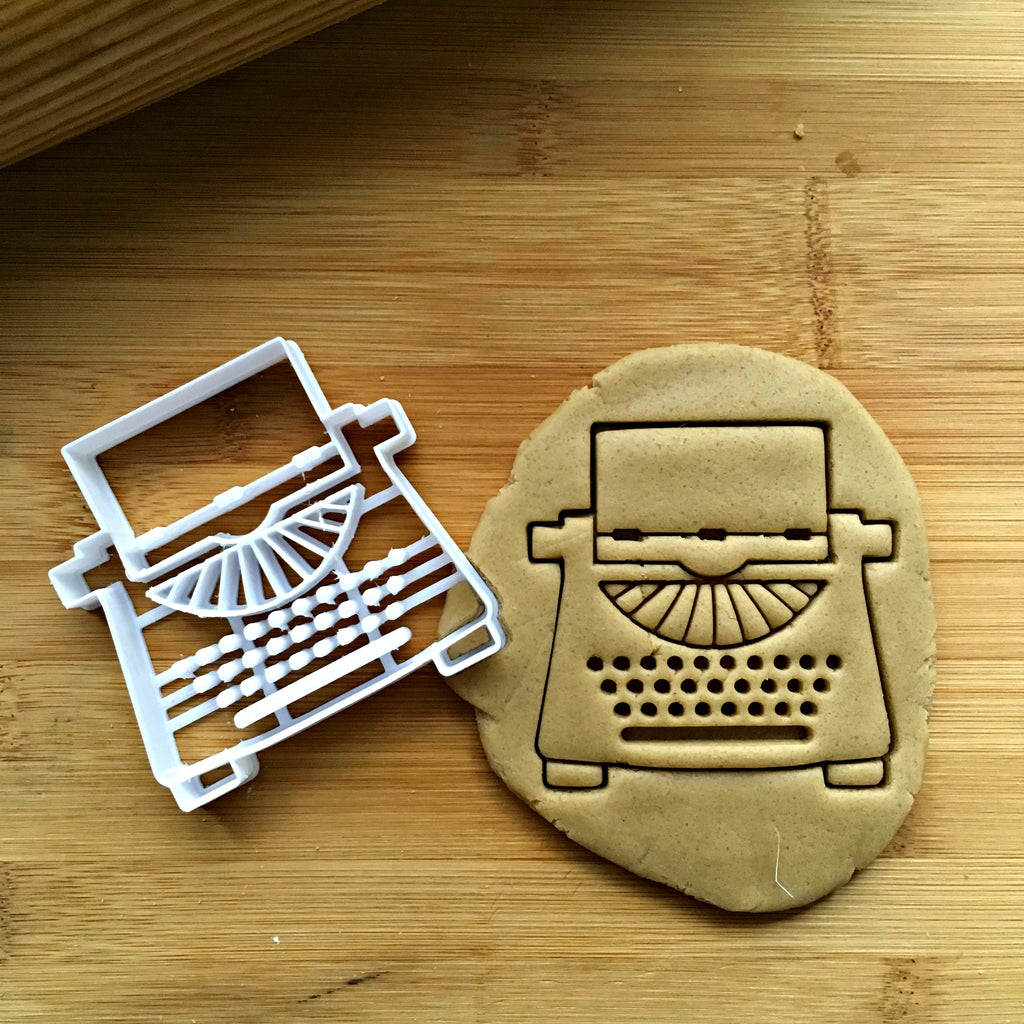 Typewriter Cookie Cutter/Dishwasher Safe