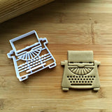 Set of 2 Typewriter Cookie Cutters/Dishwasher Safe