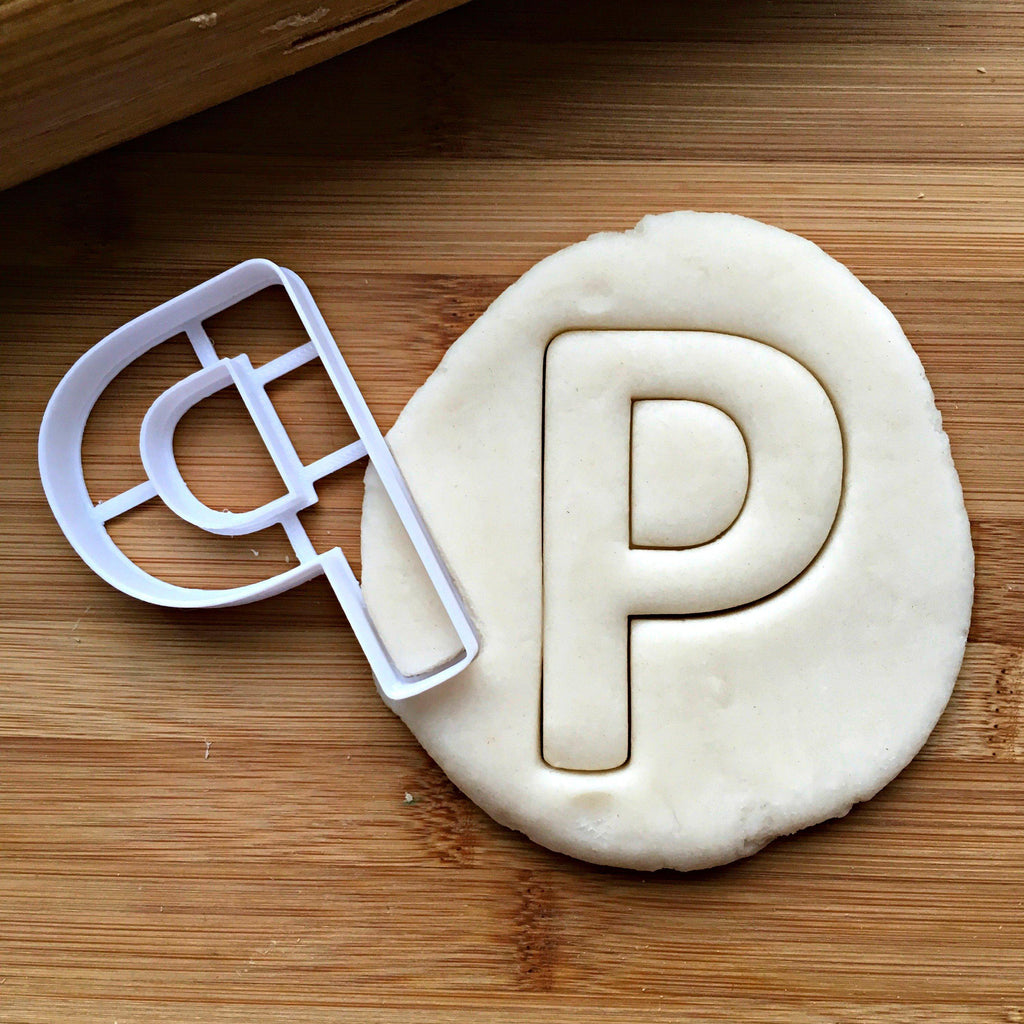 Letter P Cookie Cutter
