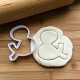 Ampersand Cookie Cutter/Dishwasher Safe