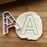 Letter A Cookie Cutter