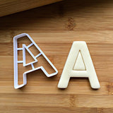 Letter A Cookie Cutter/Dishwasher Safe