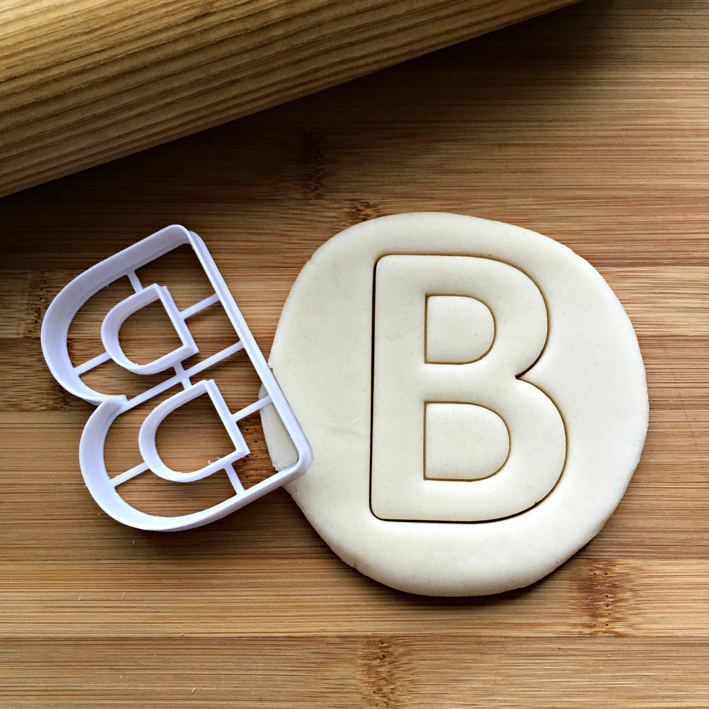 Letter B Cookie Cutter