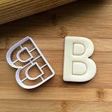 Letter B Cookie Cutter/Dishwasher Safe