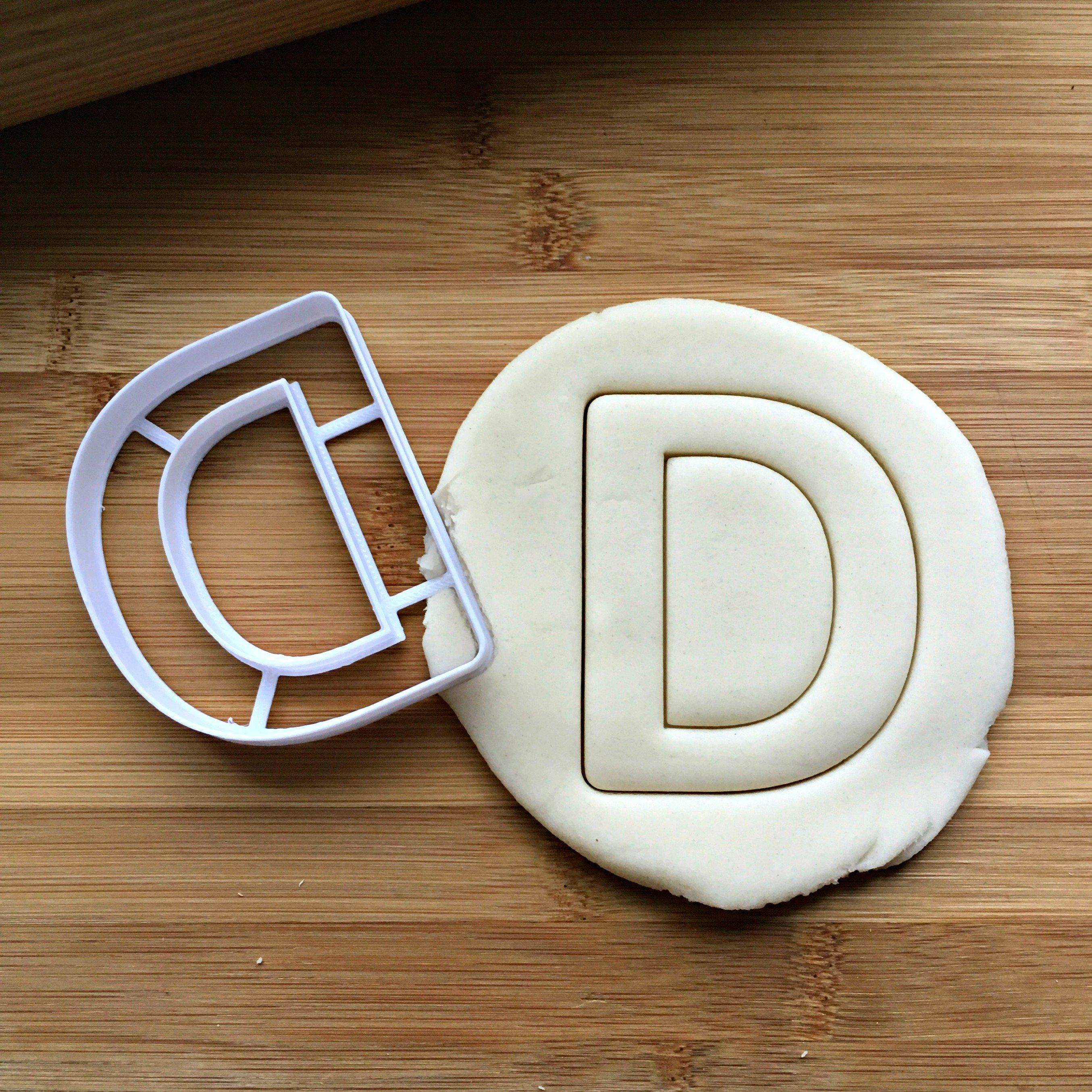Letter D Cookie Cutter
