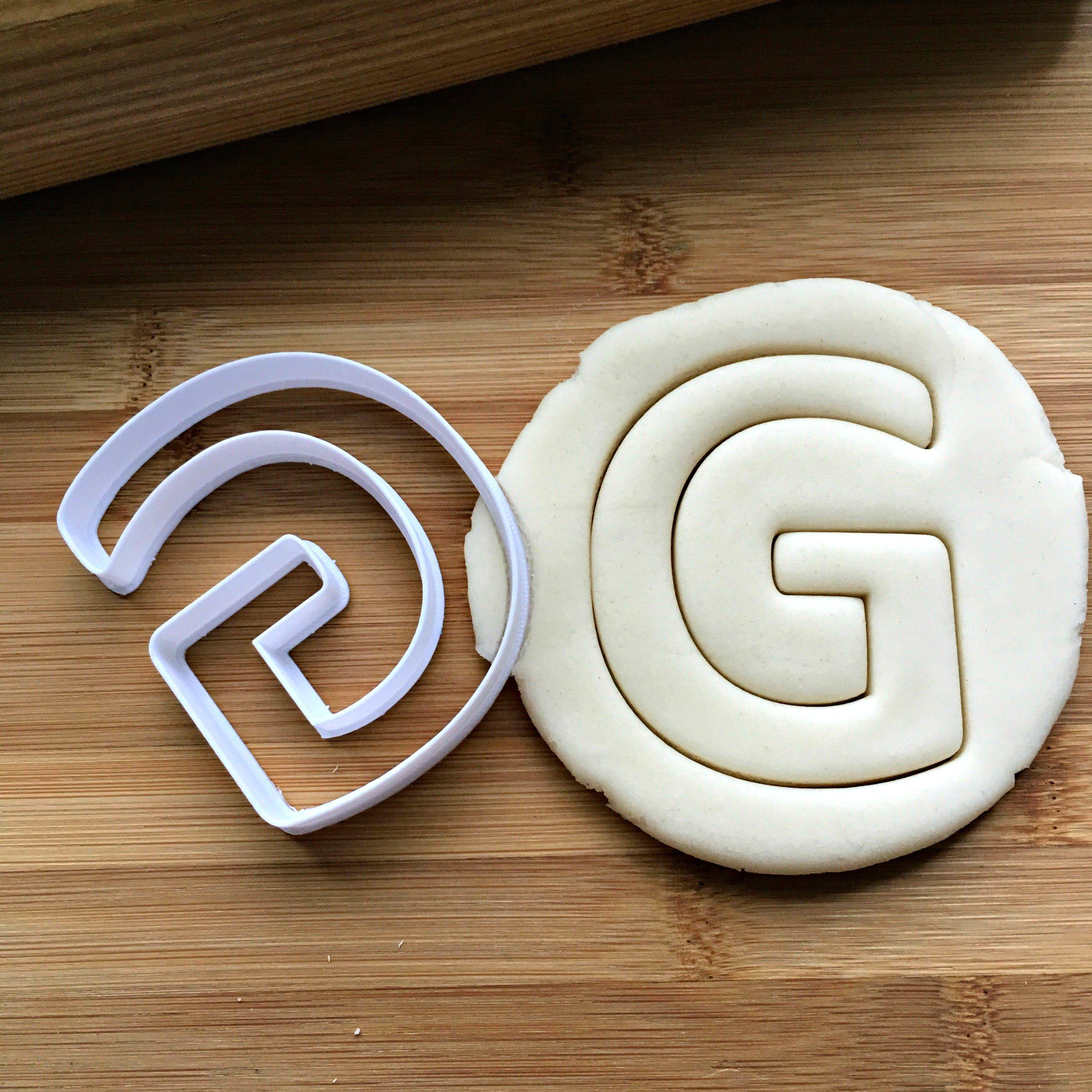 Letter G Cookie Cutter/Dishwasher Safe
