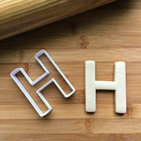 Letter H Cookie Cutter/Dishwasher Safe