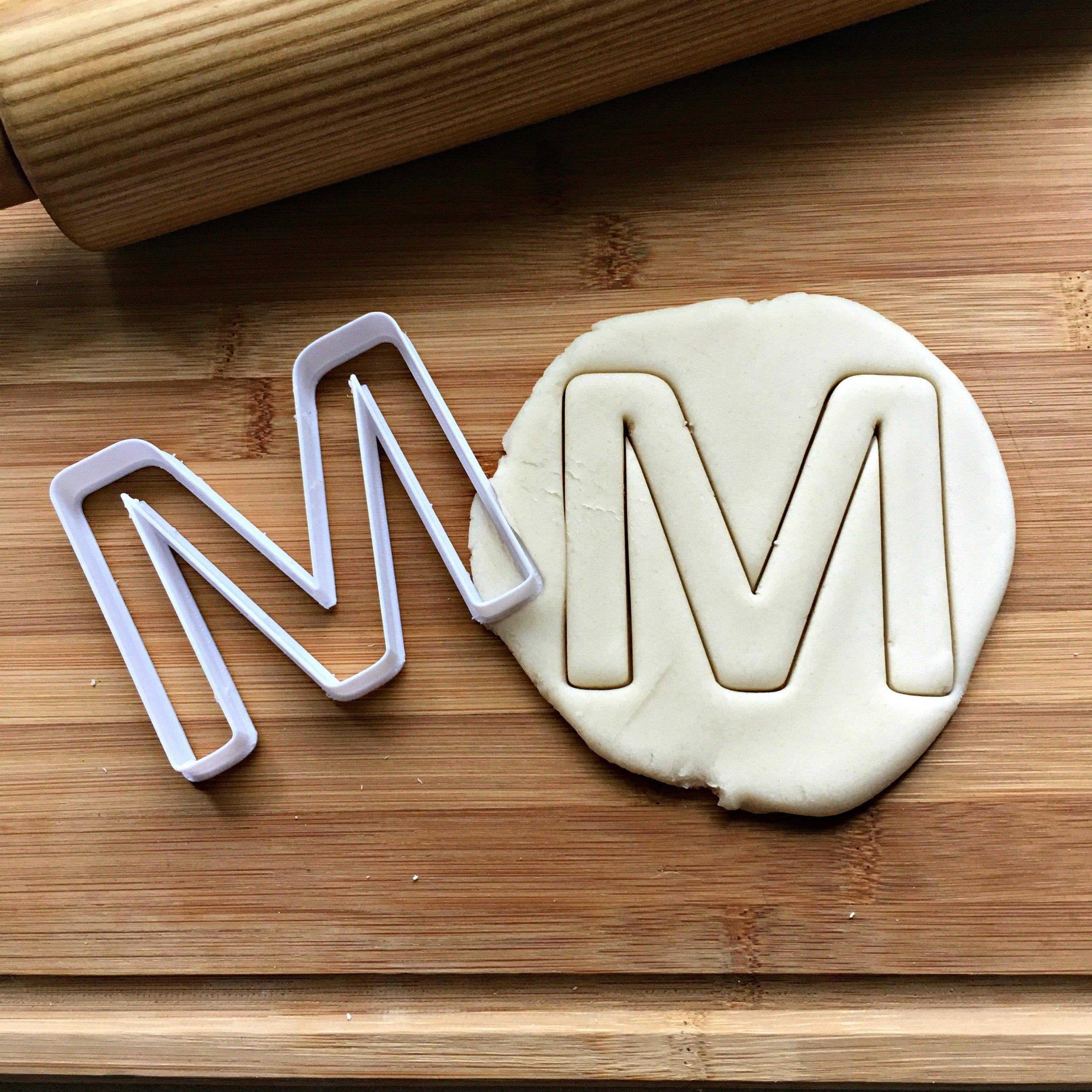 "2"" Letter M Cookie Cutter/Clearance"