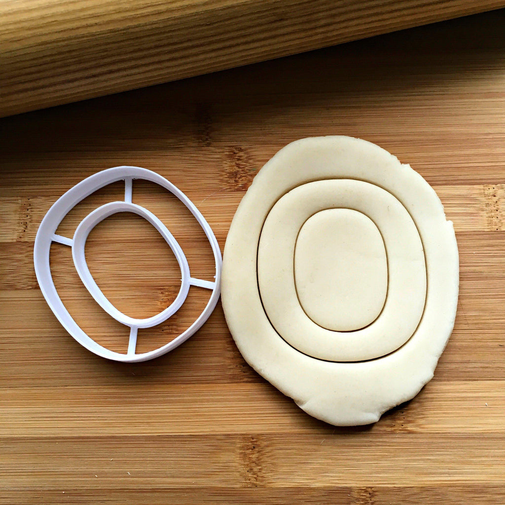 Letter O Cookie Cutter