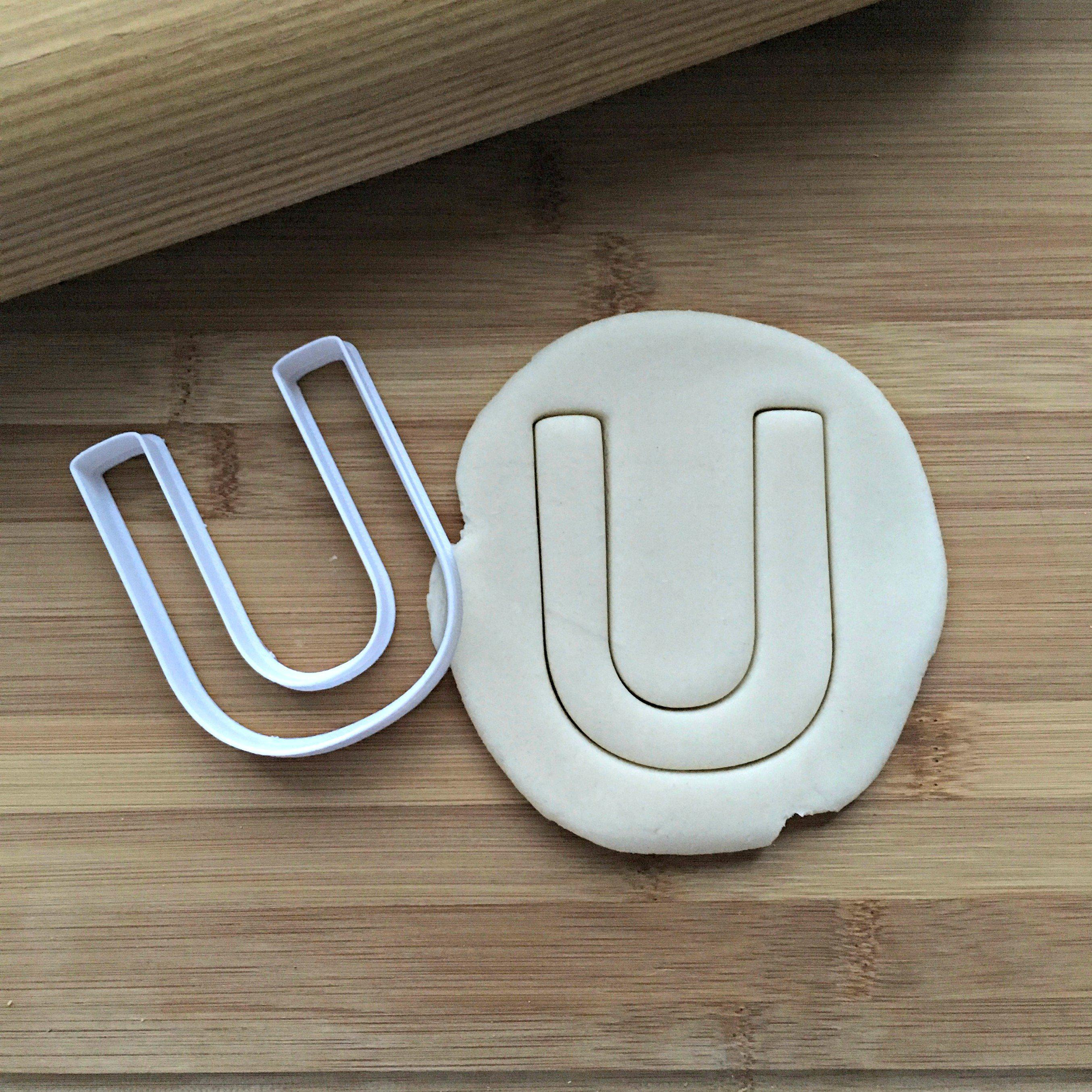 Letter U Cookie Cutter