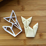 Origami Fox Cookie Cutter/Dishwasher Safe