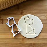 Origami Cat Cookie Cutter/Dishwasher Safe