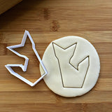 Origami Fox Cookie Cutter