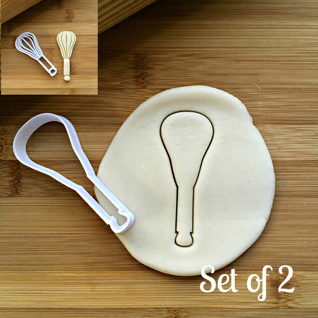 Set of 2 Whisk Cookie Cutters