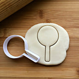 Lollipop Cookie Cutter/Dishwasher Safe